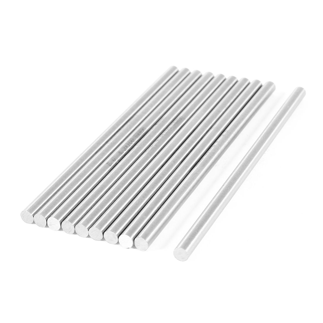 Unique Bargains CNC Lathe Part High Speed Steel Turning Bars 4.3mm x 100mm 10 Pcs by