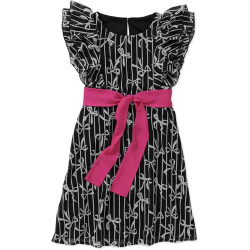George Girls' Chiffon Lace Dress