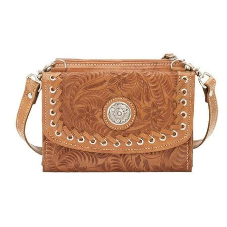 f3b541ca3f American West 6315982 Harvest Moon Small Crossbody Bag   Wallet  44 ...