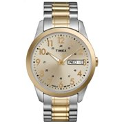 Timex Men's South Street Stainless Steel Expansion Band Sport Watches