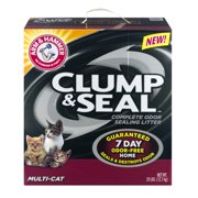 Arm & Hammer Multi-Cat Clump & Seal Complete Odor Sealing Litter, 28.0 LB