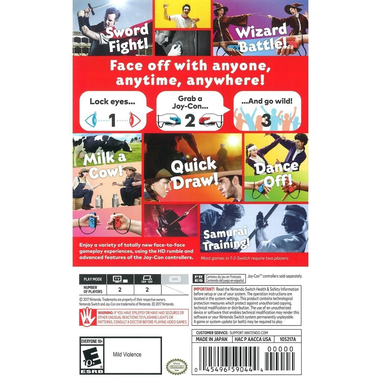 1-2-Switch, Nintendo, Nintendo Switch, 045496590444 - Walmart.com