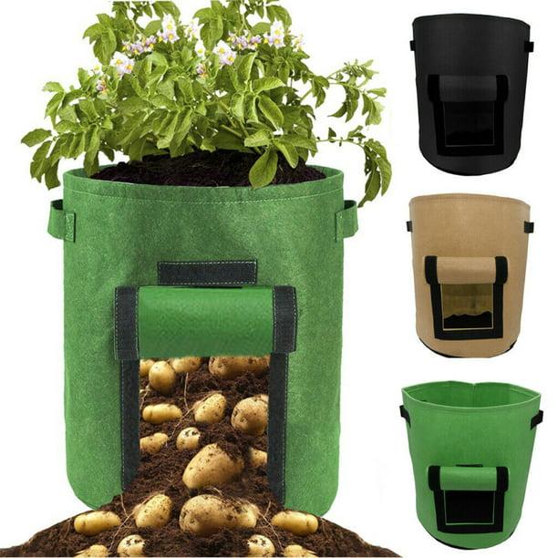 1/2/4pcs Garden sweet potato potato planting bag grow bag plant bag beauty planting bag planting tree bag plant growth bag Potato pot