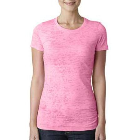aceda58eba58 Next Level - Next Level Ladies  Burnout T-Shirt N6500 - Walmart.com