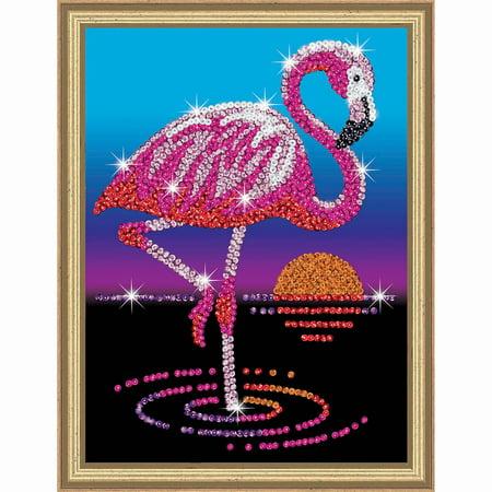 Sequin Art Kits (KSG Crafts Frankie the Flamingo Sequin)