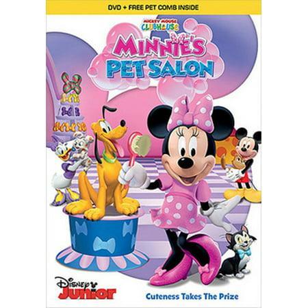 Mickey Mouse Clubhouse: Minnie's Pet Salon (DVD) (Morse Dvd Set)