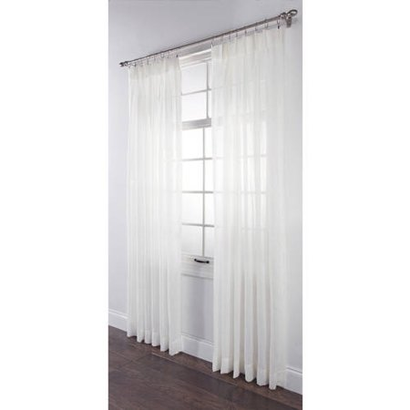"BELLE MAISON USA, LTD. SPLENDOR BATISTE PINCH PLEATED DRAPE PAIR 144"" x 84"", 2 PIECES ()"