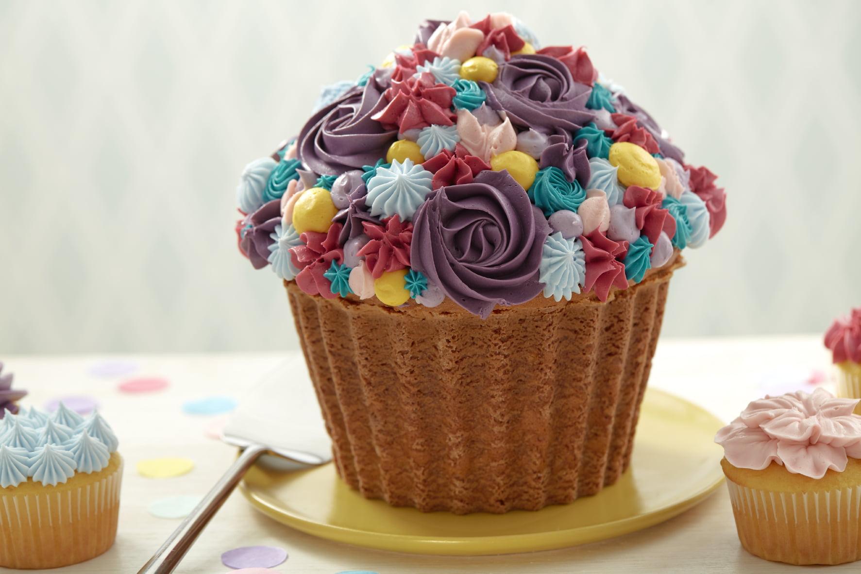 Wilton non-stick giant cupcake pan walmart. Com.