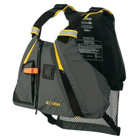 Onyx 122200-300-040-18 Onyx MoveVent Dynamic Vest Adult Yellow (Best Price Mens Vests)