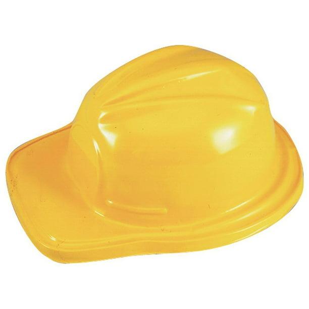 Plastic Adult Size Construction Helmets Hats (12 Per