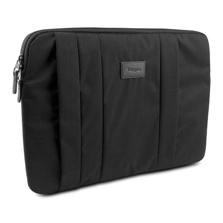 Targus CitySmart Notebook Sleeve for 15.6 Laptops, Black- XSDP -TSS638US - Whenever you head out the door, make sure your laptop is well protected with the Targus Citysmart Sleeve for 15.6