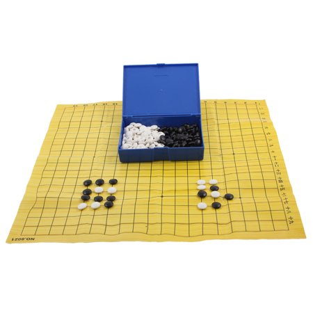 Chessman Chessboard Portable Intelligent Training Game Gomoku Chess Gobang Set ()