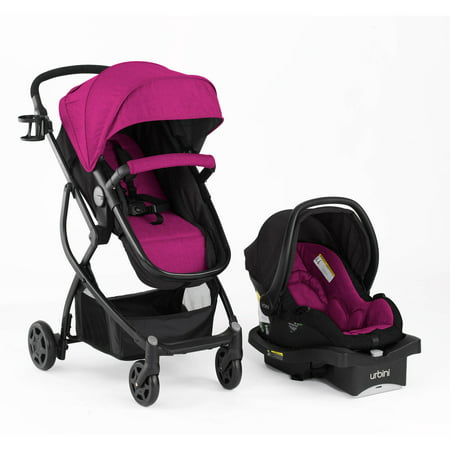 Urbini Omni Plus 3 In 1 Travel System  Viola