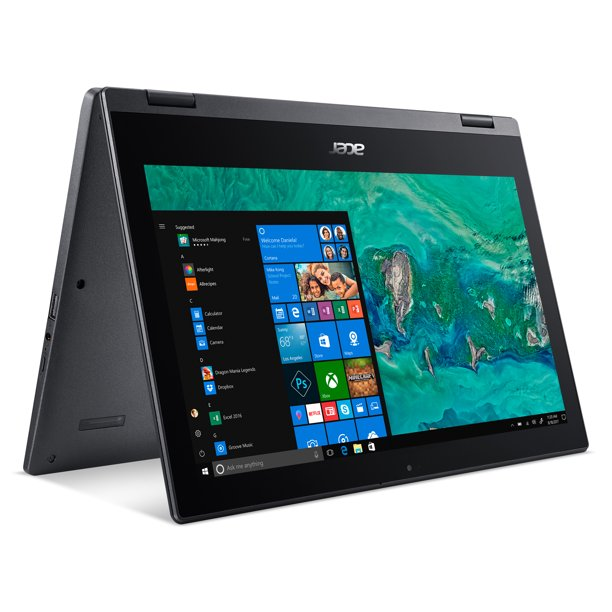 "Acer Spin 1, 11.6"" HD Touch, Intel Pentium Silver N5000, 4GB LPDDR4, 64GB eMMC, Office 365 Personal, Windows 10 in S mode, SP111-33-P1XD (Google Classroom Compatible)"