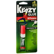 Krazy Glue All Purpose, No Run Gel, Precision Tip .07 oz (Pack of 2)
