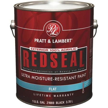 Pratt Lambert Ext Flat Black Paint