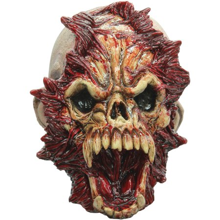 Open Mind Mask Adult Halloween Accessory - Halloween Map Open