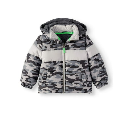 Bubble Puffer Jacket (Baby Boys, Toddler Boys) - Baby T Bird Jacket