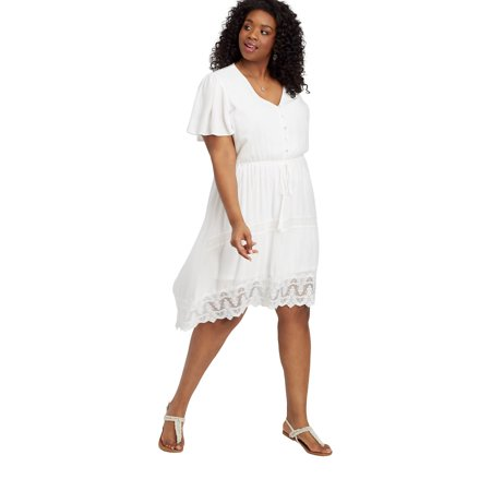 maurices High-Low Prairie Dress - Women's Plus Size Shirt