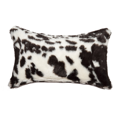 Luxe Cowhide Lumbar Pillow