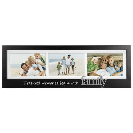 Malden Family 3-Opening Memory Stick Picture Frame (Stick Picture Frames)