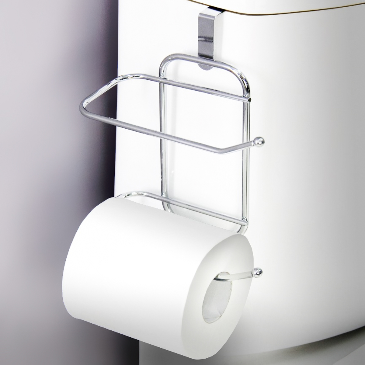 Bath Bliss Chrome Toilet Paper Holder Walmartcom