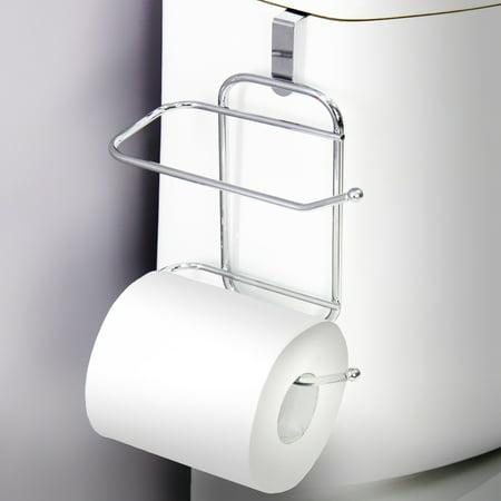 Vanderbilt Over-The-Tank Toilet Paper Tissue Hanging Metal 2-Roll ...