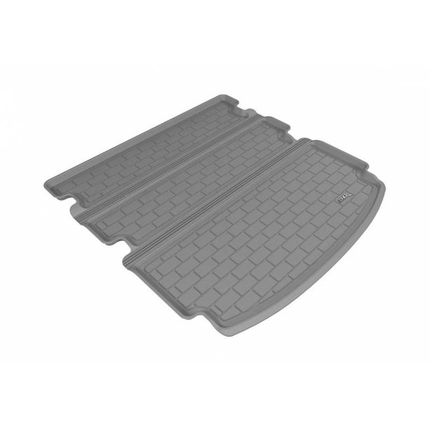 3D MAXpider 2014-2020 Acura MDX Behind 2nd Row Seat Gray