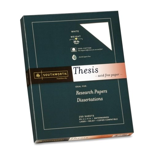Southworth Thesis Paper, Pack of 250, White
