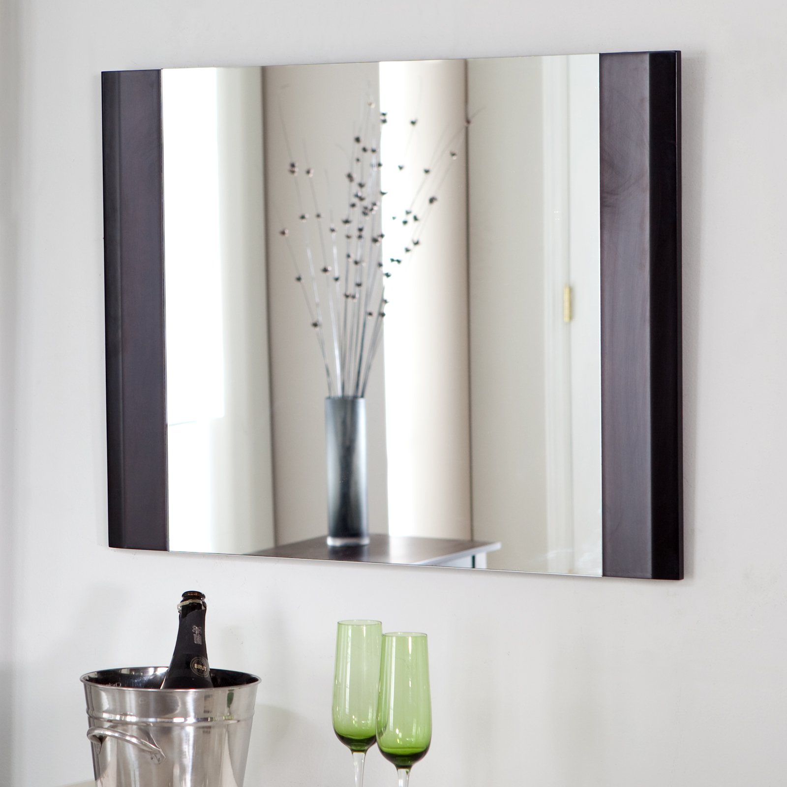 Décor Wonderland Frameless Chase Wall Mirror - 31.5W x 23.5H in.