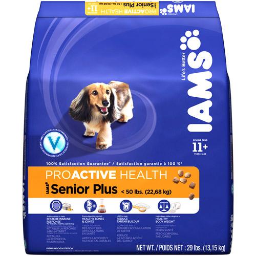 Iams Proactive Health Senior Plus 11+ Years Dog Food, 29 lbs.