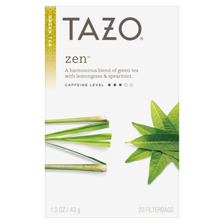(Tazo Zen Tea bags Green tea 20ct)