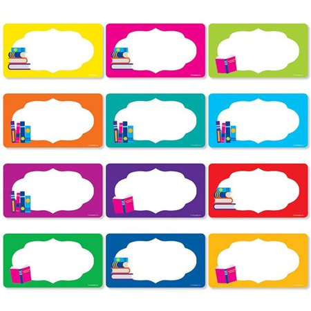 Scholastic Teaching Resources SC-834503BN Library Labels Accents, Pack of 3 - image 1 of 1