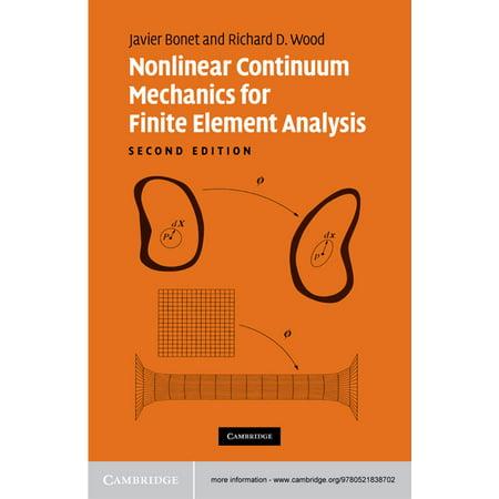 Nonlinear Continuum Mechanics for Finite Element Analysis -
