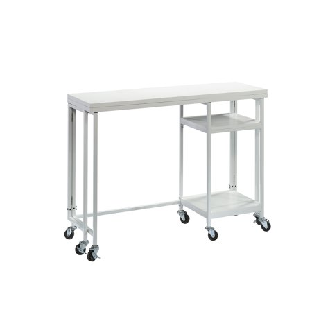 Better Homes & Gardens Craftform Fold-Out Craft Table, White -