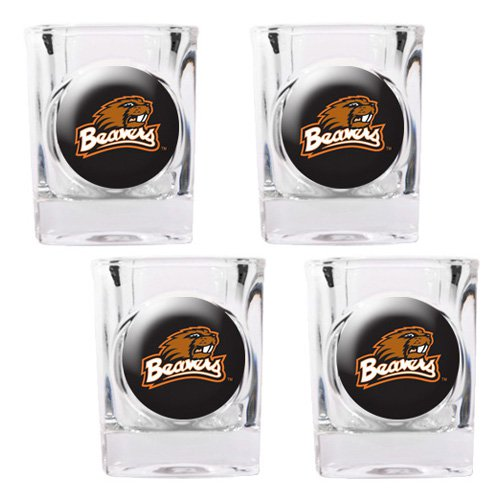 Great American NCAA Square Shot Glass Set