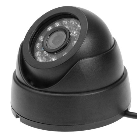 Camera 24LED IR AHD Camera Night Vision Audio HD 720P 1080P 1.0MP 2.0MP CCTV Dome Camera with IR-Cut Black - image 3 de 7