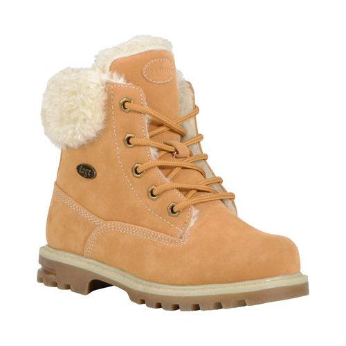 Boys' Lugz Empire HI Fur Work Boot by Lugz