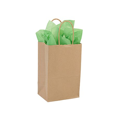 Small Kraft Paper Shopping bags - 5 1/4
