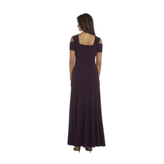 1601b628907 R M Richards - R amp M Richards Long Formal Black Dress Evening Gown ...
