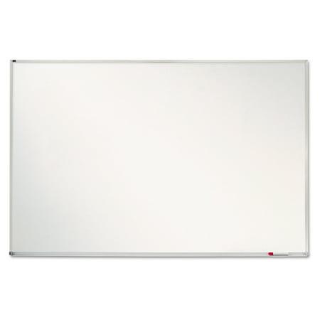 quartet porcelain magnetic whiteboard 72 x 48 aluminum frame - Magnetic White Board