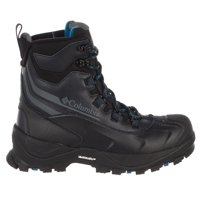 Columbia Bugaboot Plus Iv Omni-Heat Boot - Black, Phoenix Blue - Mens - 9.5