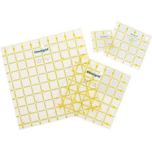 Dritz Omnigrid Ruler Value Pack, Set of 4