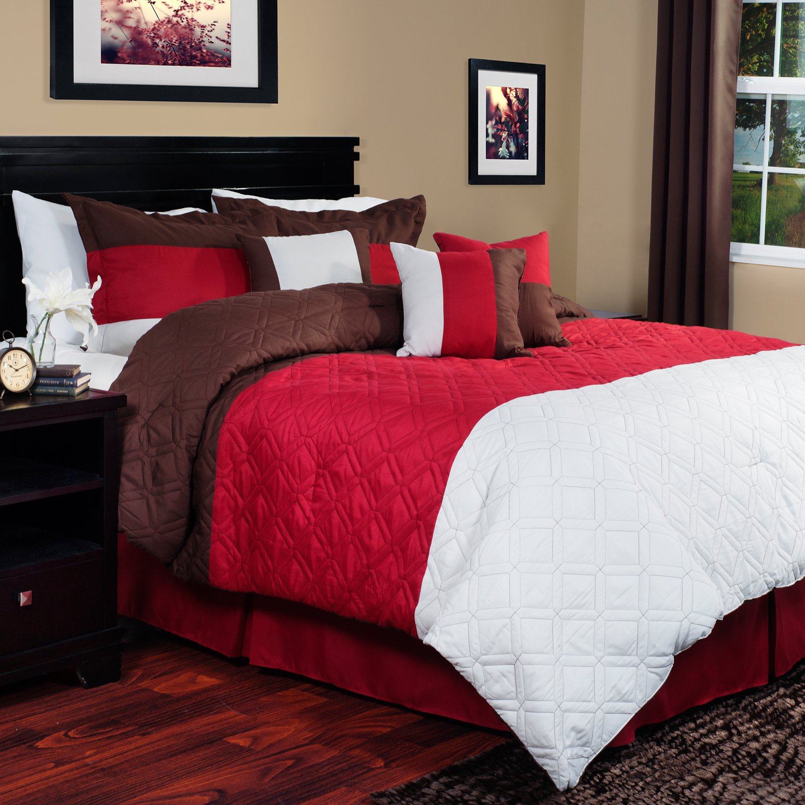Lavish Home Layla Comforter Set