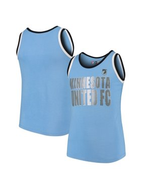 Minnesota United FC 5th & Ocean by New Era Girls Youth Team Color Tank Top - Light Blue