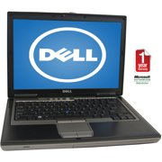 "Refurbished Dell 14.1"" Latitude D630 Laptop PC with Intel Core 2 Duo Processor, 2GB Memory, 320GB Hard Drive and Windows 10 Home"