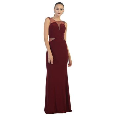 SOPHISTICATED LONG PROM DRESS - Walmart.com