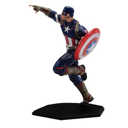 The Avengers: Age of Ultron Captain America Metal Miniature Mini-Figure