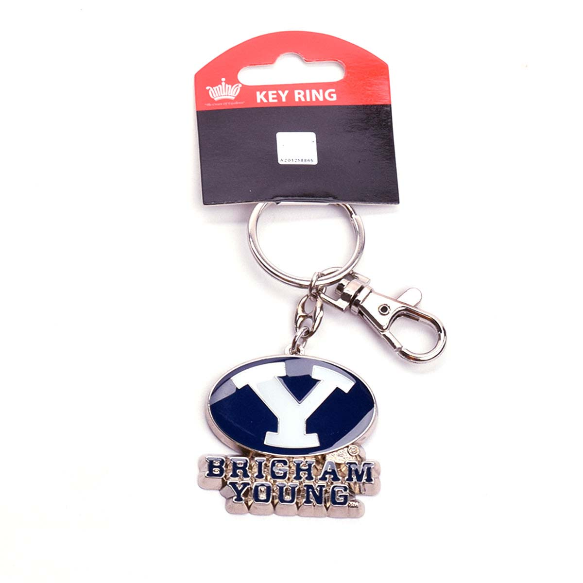 BYU Cougars Heavy Weight Logo Keychain