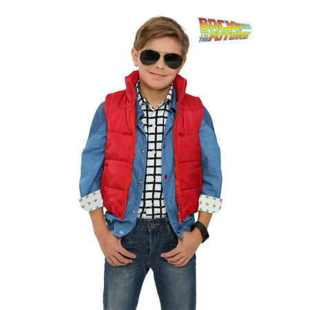 Back to the Future Child Marty McFly Vest - Marty Mcfly Jacket